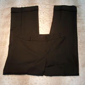 Ann Taylor LOFT Marisa Fit Black Wool Pants Size 8